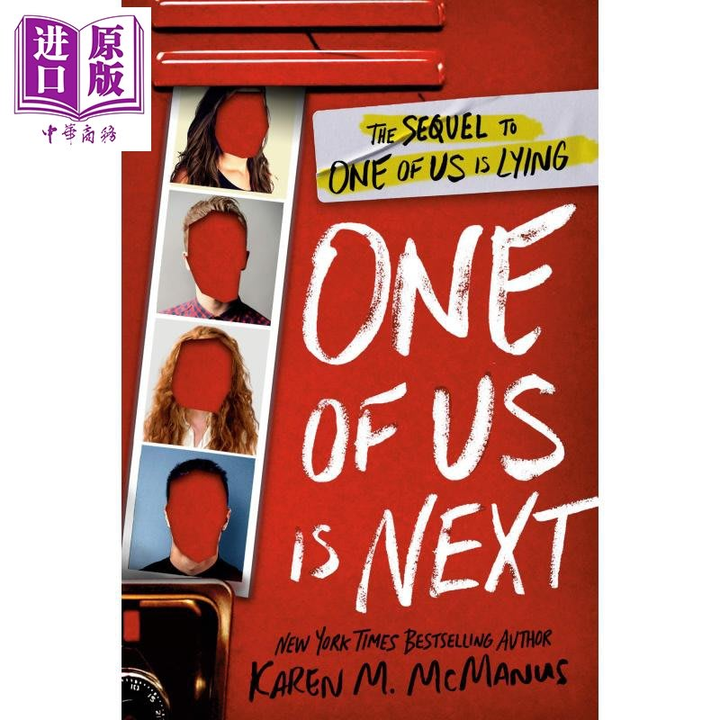 One of Us Is Next: The Sequel to One of Us Is Lying 英文原版 誰在說