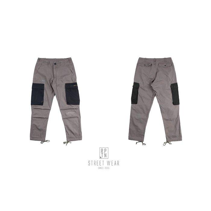 REPUTATION COMBO Ripstop /  D - PANTS .FW  異材質軍褲