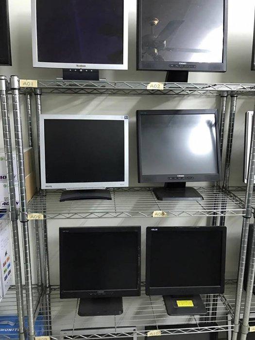 各廠牌17吋 液晶螢幕 均一價 優派 asus acer dell 奇美 LG BENQ 17吋二手螢幕 二手液晶