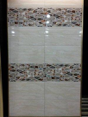 ◎冠品磁磚精品館◎進口精品 高亮釉數位噴墨壁磚+立體面線條+花磚- 30X60(二) 新北市