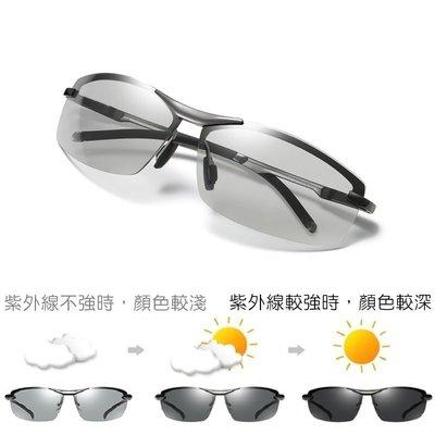 感光變色 休閒經典款57 偏光太陽眼鏡 / 偏光變色太陽眼鏡 / 變色眼鏡 / 感光變色 / 變色太陽眼鏡