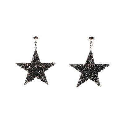 耳飾韓版時尚氣質網紅閃閃滿鉆細鉆五角星星耳釘 可愛輕奢風耳環飾