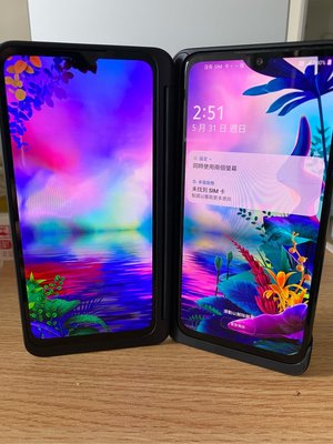 LG G8X ThinQ 6G/128G雙螢幕 第二螢幕(衝買氣 特價一台)
