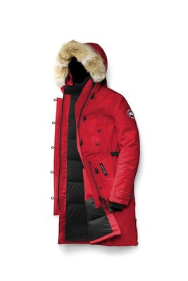 [預購] 加拿大空運 保證正品 Canada Goose Kensington Parka 頂級羽絨外套 多色可選 紅色