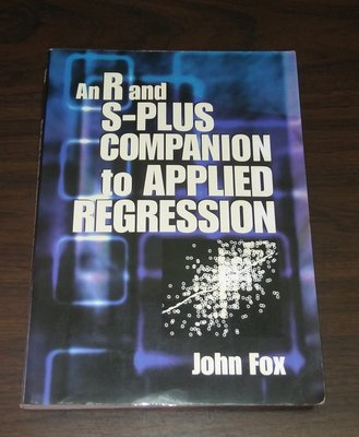 An R and S-PLUS COMPANION TO APPLIED REGRESSION ◎(BB43)