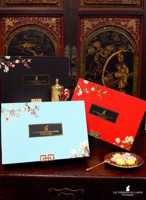 白兔洞甜點實驗室-法式囍餅禮盒/法式手工喜餅-經典珠寶禮盒