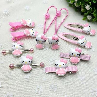 【歐慕家居】頭繩頭飾發飾兒童頭飾品發夾韓國小女孩發卡女童寶寶發繩發圈頭花