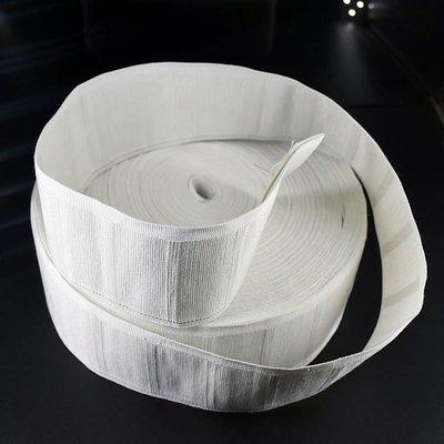 窗簾頭掛鉤布帶棉質白布帶布條布帶輔料配件加厚全棉純棉四抓鉤掛(規格不同價格不同請詢價)