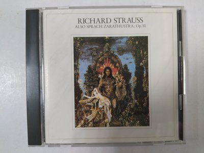 昀嫣音樂(CD4)  R.STRAUSS: ALSO SPRACH ZARATHUSTRA MEHTA  片況如圖
