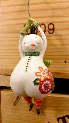 可愛雪人掛飾:聖誕節 雪人 掛飾 吊飾 擺飾 居家 家飾 設計 收藏 禮品 塑像