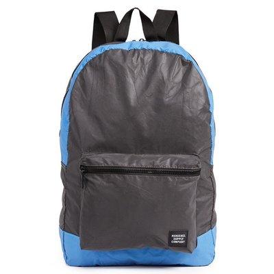 Herschel Packable Daypack 黑色 水藍 反光 Reflective 收納 旅行 後背包 [現貨]