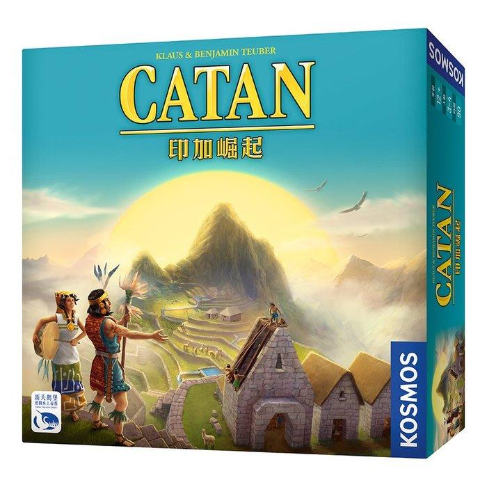 骰子人桌遊-(免運送牌套)卡坦島-印加崛起 Catan Inca (繁) 中策略經典好遊戲.獨立遊戲