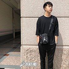 ⚡️潮鞋瘋⚡️JORDAN 喬丹 側背包 JUMPMAN AIRFESTIVAL隨身包 斜背包 黑色 9A0197-023