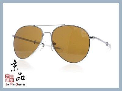 【美國AO】GN 將軍款 GN 58 S BA COS 58mm 銀框 茶色玻璃 太陽眼鏡 公司貨 JPG 京品眼鏡