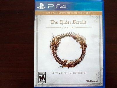 PS4 上古卷軸ONLINE 英版