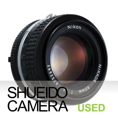 集英堂写真機【1個月保固】實用品 / NIKON NIKKOR Ai 50mm F1.4 手動 標準 鏡頭 11258