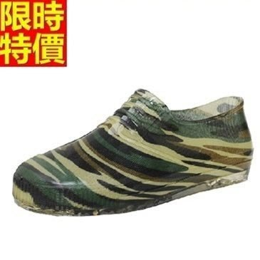 短筒雨靴 雨具-時尚酷炫迷彩戶外休閒男雨鞋67a30[獨家進口][米蘭精品]