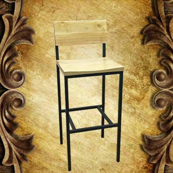 【南洋風休閒傢俱】吧檯椅系列 –松木實木吧檯椅 工業風吧檯椅 復古復刻吧椅 (有背款)
