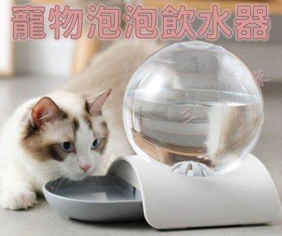 寵物泡泡自動飲水器 出口品質 座式 定量 免插電 自動飲水器 餵食器 定量 貓奴 外出 犬 水瓶 飲水機 水量 2.8L