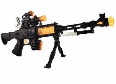 .-  小朋友玩具槍狙擊槍架槍長槍燈光槍大型玩具槍 1377c