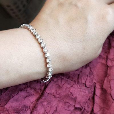 三爪鑽石手鍊特價出清韓版時尚搭手錶鑽石...