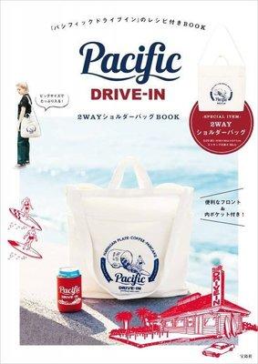 ☆MYWAY ZAKKA☆日文MOOK雜誌附錄【Pacific DRIVE-IN 咖啡海衝浪兩用斜背包】216092