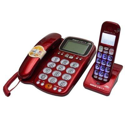 【來去電報號】三洋 2.4 GHz 數位無線親子機 SANYO DCT-8916  紅
