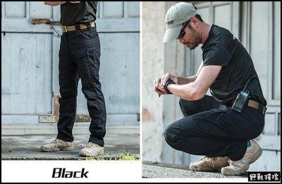 【野戰搖滾-生存遊戲】 SECTOR SEVEN IX7c 執政官特勤戰術長褲【黑色、卡其色、綠色、碳灰色】工作褲迷彩褲