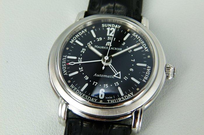 【時間迴廊】Maurice Lacroix艾美錶-Masterpiece匠心系列 27857(40mm)自動上鍊機械腕錶