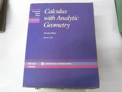 [184二手書_原文書類] Calculus with Analytic Geometry ~ Second edition著 ~下標即結