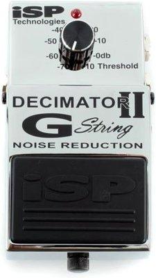 ☆ 唐尼樂器︵☆ ISP Decimator II G String 二代 電吉他 Bass 消雜音效果器(現貨不必等)