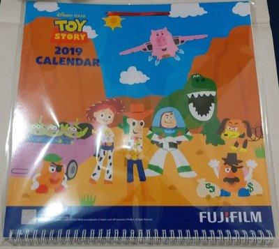 2019年 Toy story 月曆