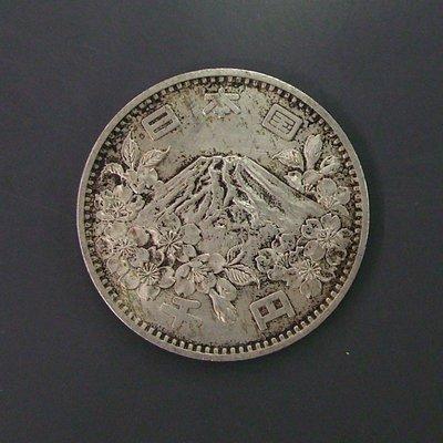 a639,昭和 39年,日本東京奧運 1000丹紀念銀幣。