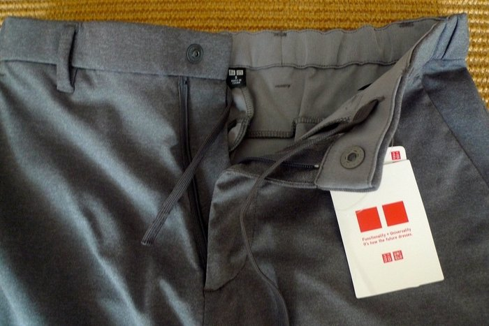 UNIQLO : Dry-EX ULTRA STRETCH 彈性九分褲* / * 只要 850 元!!