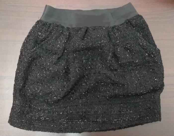 日韓美女專屬,全新黑閃亮浪漫短裙