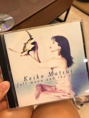 keiko matsui full moon and the shrine 松坂慶子 難找絕版品 CD TR