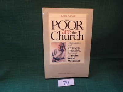 【愛悅二手書坊 04-51】THE POOR are the Church
