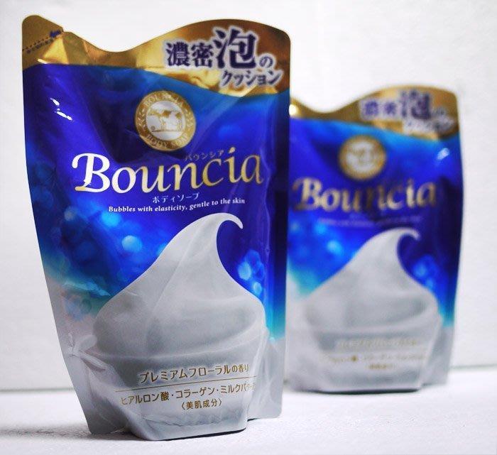 牛乳石鹼 Bouncia 美肌膠原牛奶保濕沐浴乳 優雅花香型  430ml 補充 COSM