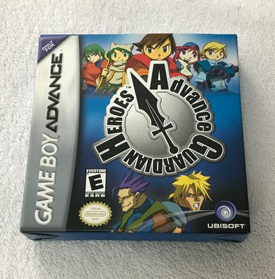 Gameboy GBA game Advance Guardian Heroes 美版 已開