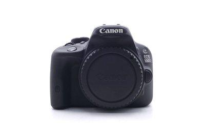 【台中青蘋果】Canon EOS 100D 單機身 二手 APS-C 單眼相機 快門次數約4,526 #58206