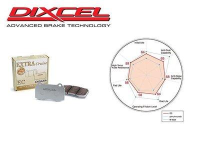 日本 DIXCEL EC 前 來令片 剎車皮 Honda CR-V 2代 02-06 專用