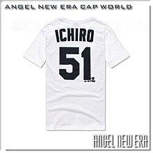 【ANGEL NEW ERA】MLB 西雅圖 水手 鈴木一朗  背號 T ( 白色 ) 最後數量 !! 現貨 !!
