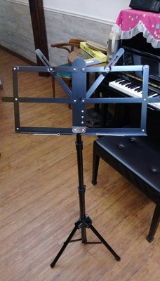 律揚樂器 譜架 台灣製造 可折疊 伸縮 粗管