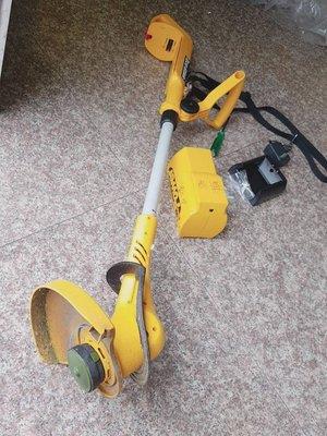 尚溢五金:二手 的 LT250充電割草機簡易組裝與簡易配備適用於小草皮小庭園割草除草DIY因應-小草皮且不常用的買家需求