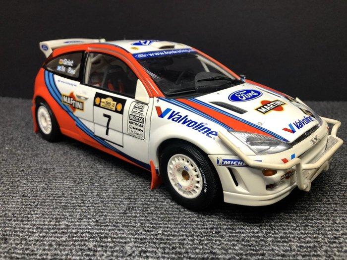 【JP.com】Autoart 1/18 Ford Focus WRC 99 #7 Rally版 無盒/中古