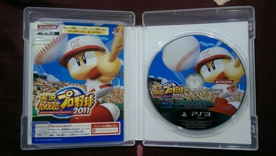 PS3 實況野球 2011 純日文(編號55)