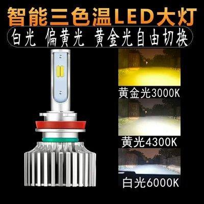 『光爍』三色溫60W 9000LM LED大燈 H1/H4/HS1/H7/H8/H11/9006/H16 CSPCREE