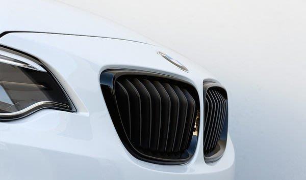 【樂駒】BMW F22 M Performance 原廠 套件 高光澤黑 水箱罩 黑鼻頭 改裝 精品 外觀 空力