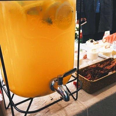 Mason玻璃瓶 ZAKKA飲料桶 冰桶飲料桶 啤酒桶 5公升 方型桶身 果汁桶 釀酒 梅森  檸檬水含架