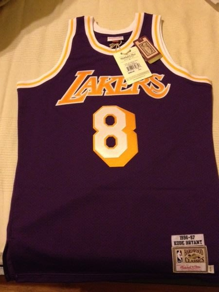 [KittyHawk]Mitchell and Ness M&N KOBE BRYANT 1996~1997 全新 Lakers SIZE:40